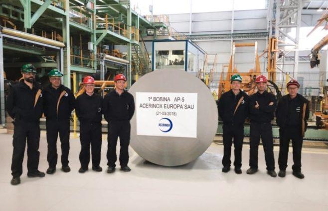 Acerinox inversiones con altos niveles de tecnología a nivel mundial