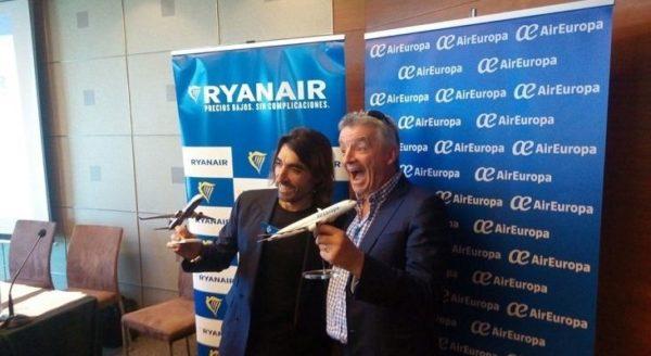 Air Europa yRyanair