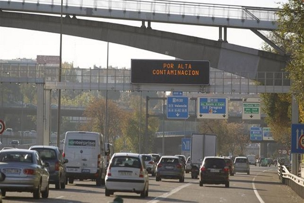 Contaminación Madrid restricciones