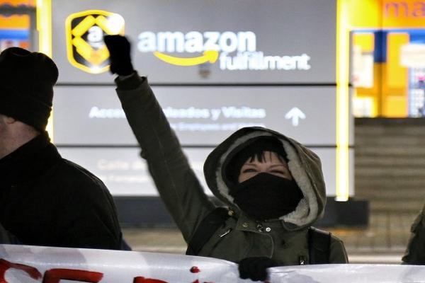 Huelga Amazon