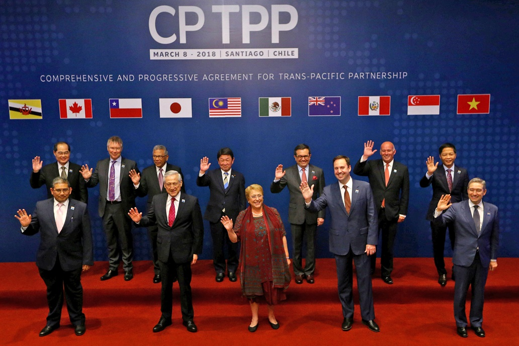 Once países firman el Acuerdo de Asociación Transpacífico en Chile