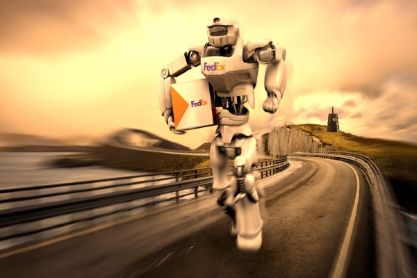 Robot FedEx