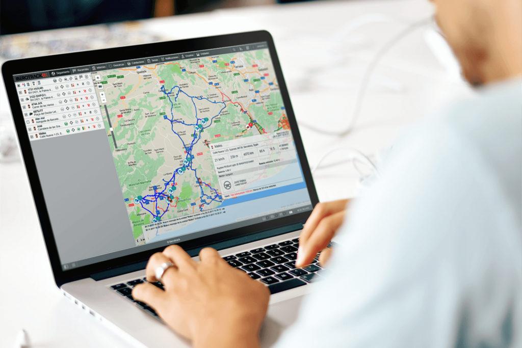 Software-iberotrack de gestión de flotas