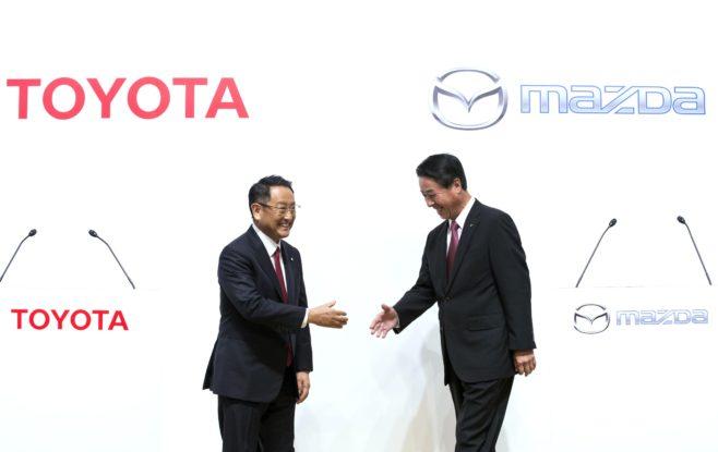 Toyota y Mazda