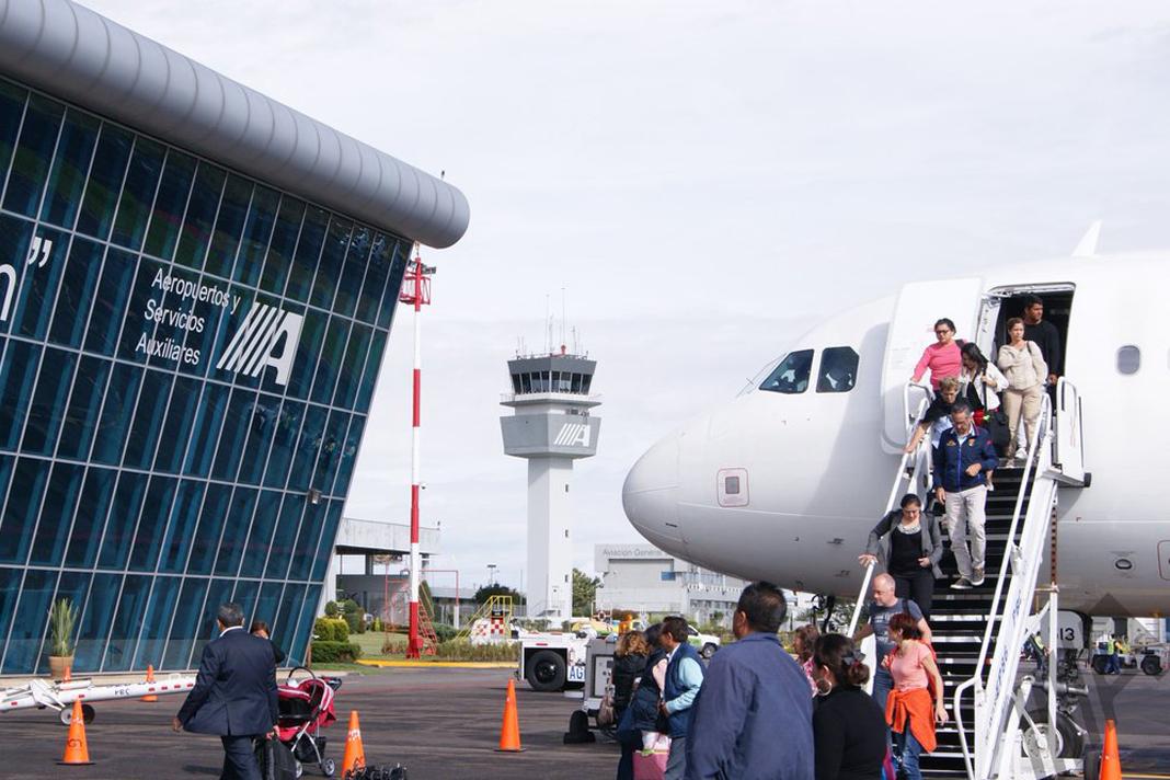 México pone en marcha plan en los 19 aeropuertos de ASA para vacaciones de primavera