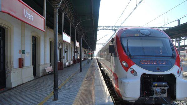estación de tren de Utrera