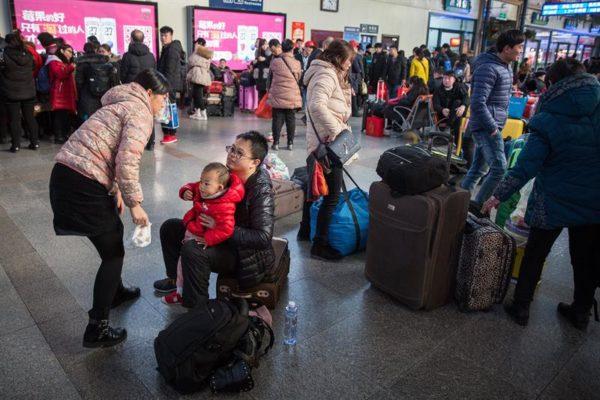 pasajeros chinos