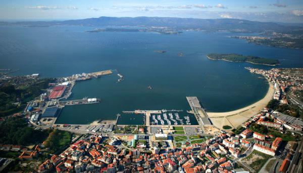 puerto gallego de Vilagarcía