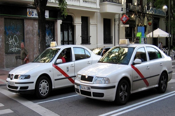 taxistas en Madrid