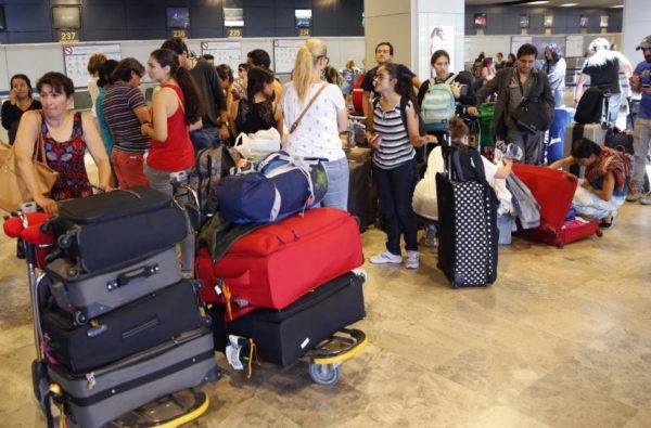 tráfico de pasajeros en los aeropuertos españoles