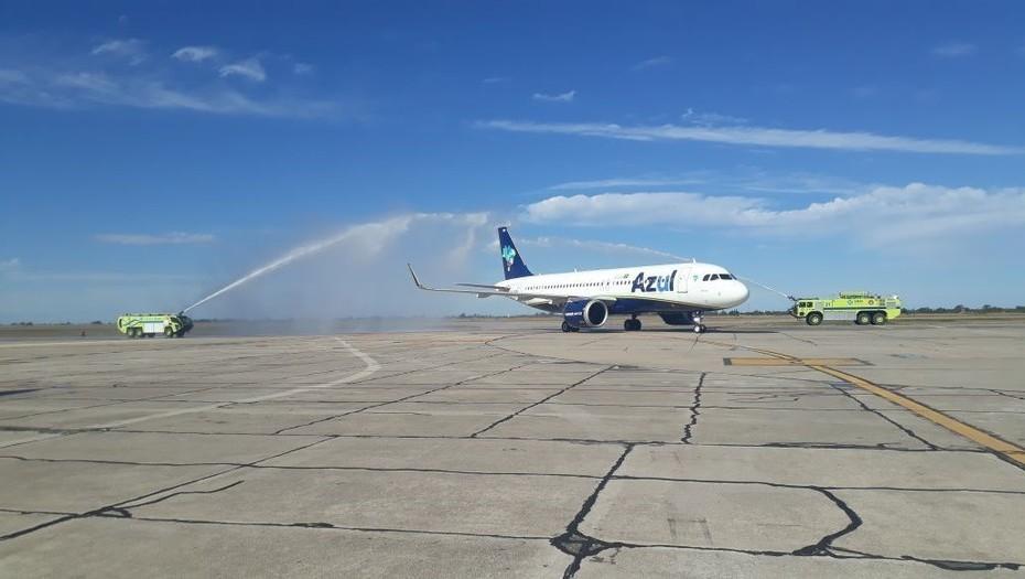 Mejora conectividad entre Argentina y Brasil con dos nuevas rutas de la aerolínea brasileña Azul