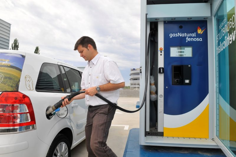 Gas Natural Fenosa. Combustible-vehicular
