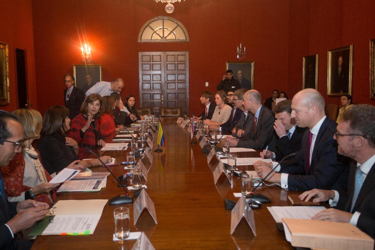 Colombia y Países Bajos profundizarán sus relaciones comerciales