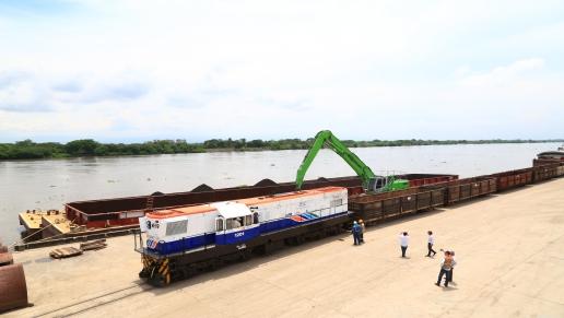 Colombia logra exitosa operación de transporte de carga multimodal desde Barranquilla a Tocancipá