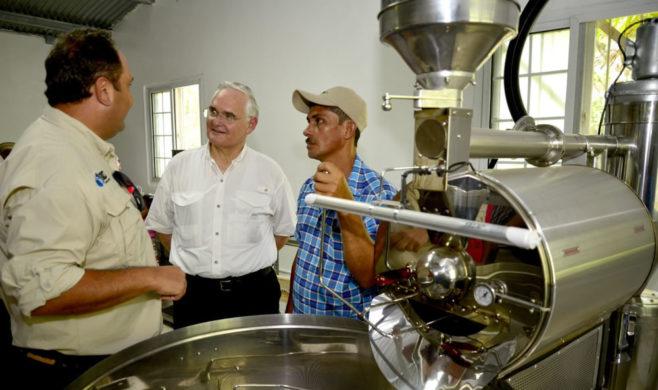 Canal de Panamá Inaugura nuevo proyecto del Programa de Incentivos Económicos Ambientales