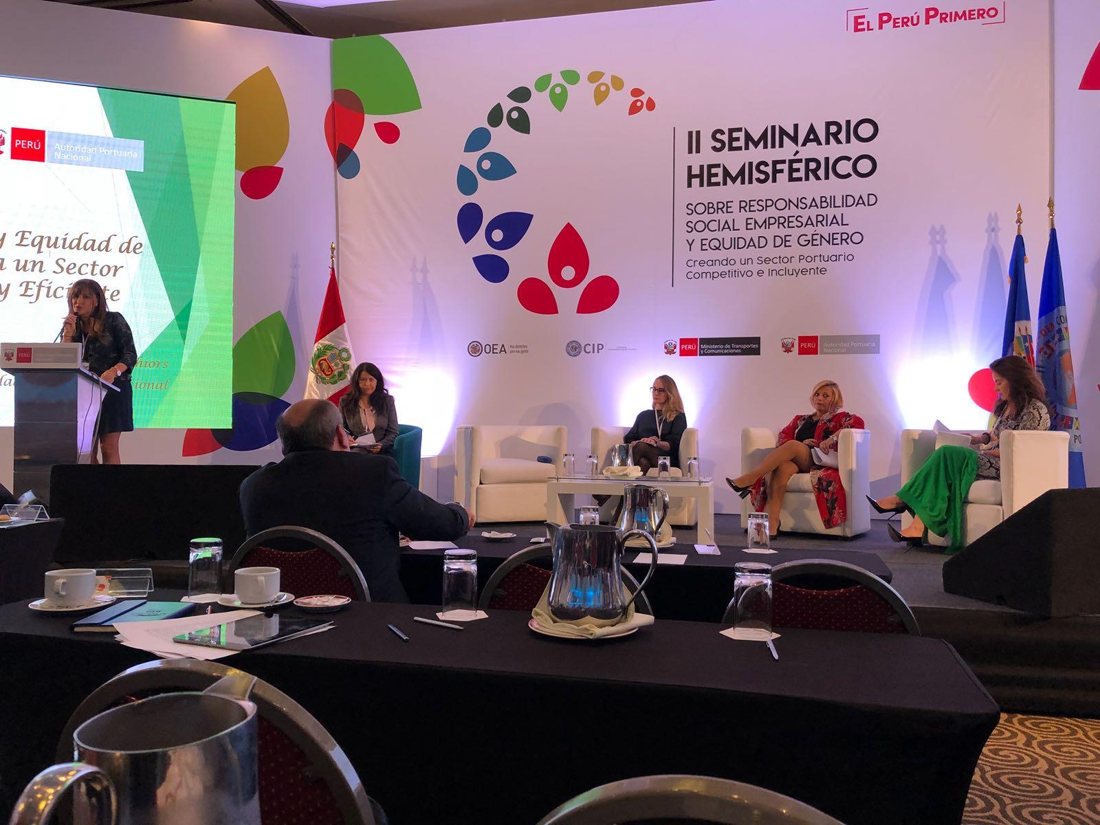 Instituto Nacional de Logística de Uruguay fue reconocido en seminario hemisférico portuario realizado en Lima