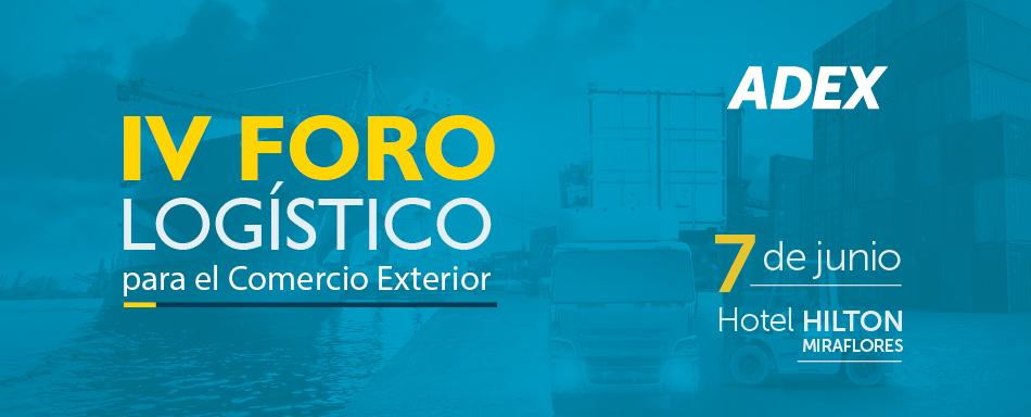 Perú organiza en junio el IV Foro Logístico para el Comercio Exterior