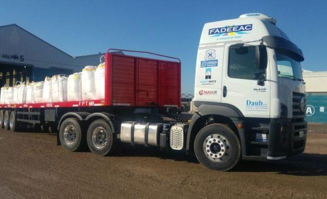 Realizan prueba piloto entre Bahía y Vaca Muerta en Argentina con un camión que carga 52 toneladas
