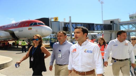 Más de 700 mil viajeros han utilizado la nueva terminal del aeropuerto de Santa Marta en Colombia