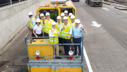 Corredor férreo entre Santa Marta y Chiriguaná en Colombia está en capacidad de movilizar 91 millones de toneladas de carga al año L