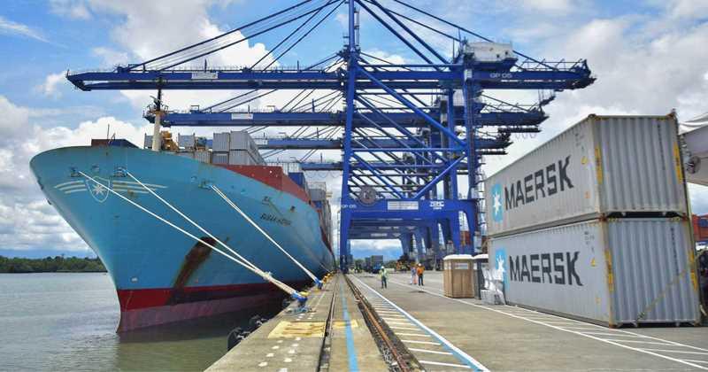 En los últimos siete años, los puertos de Colombia han aumentado su capacidad de carga