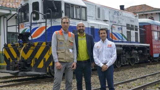 Colombia reactivó la operación comercial de los corredores férreos Bogotá – Belencito y Dorada – Chiriguaná