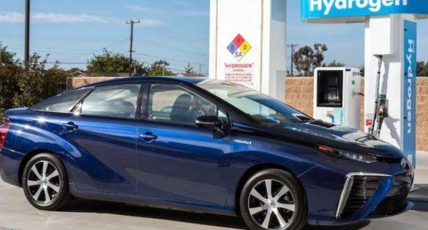 Toyota hidrogen