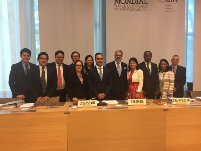 Colombia presenta su examen comercial ante la Organización Mundial de Comercio