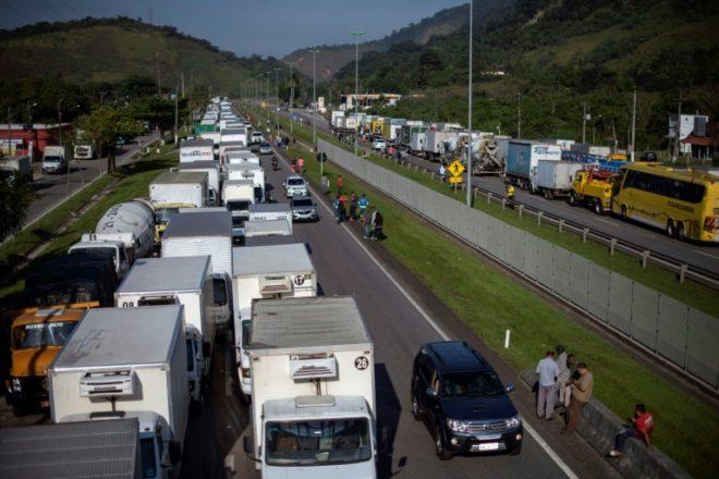 La huelga camionera en Brasil causó un perjuicio de 4.280 millones de dólares