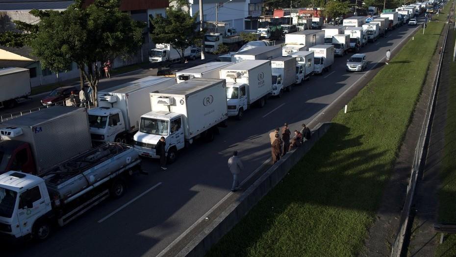 La huelga camionera en Brasil causó millonarias pérdidas al sector de pollos y cerdos