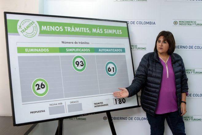 Colombia interviene 180 trámites para facilitar sectores del turismo, comercio exterior y construcción