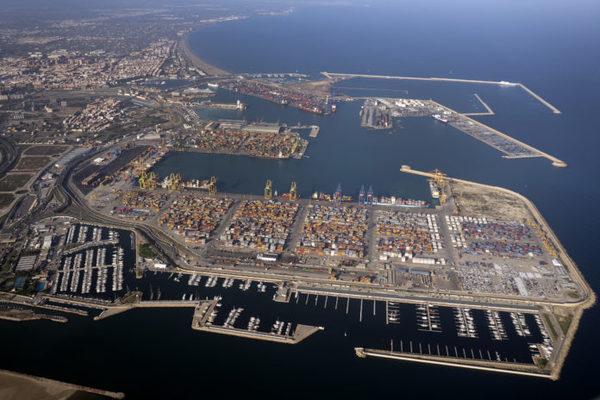 puerto valencia traficos