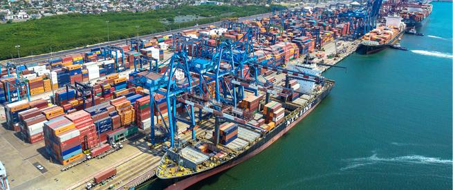 Movimiento de carga en contenedores de los puertos de Latinoamérica aumentó 6,1% en 2017, según CEPAL