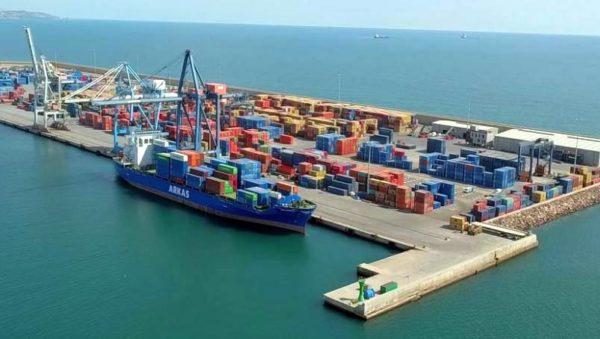 tráfico portuario de mercancías