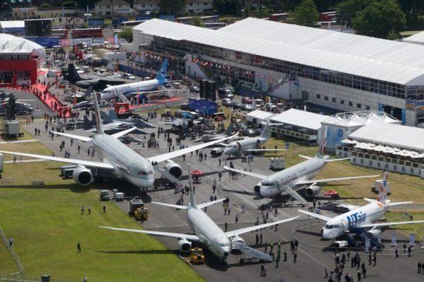 Salón aeronáutico de Farnborough