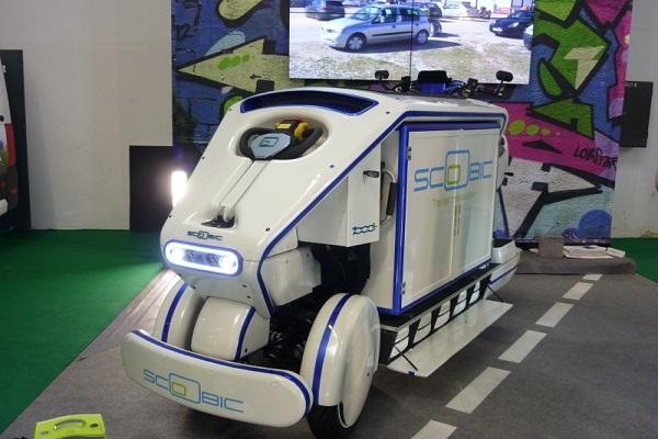 Vehículo eléctrico de reparto Scoobic gana concurso Lehnica de Correos