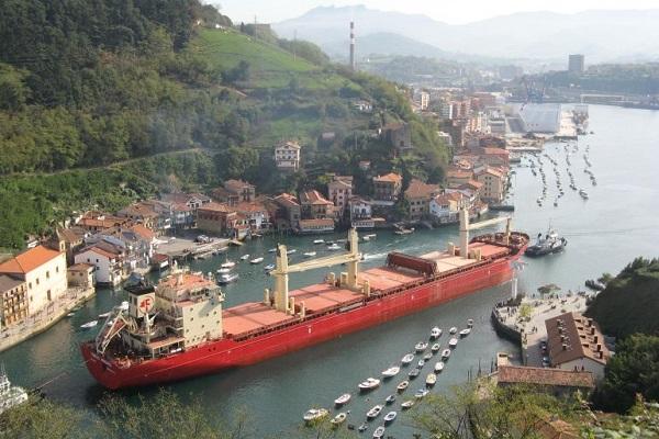 Enclave de Pasaia aumenta 7% el tráfico de mercancías en primer semestre