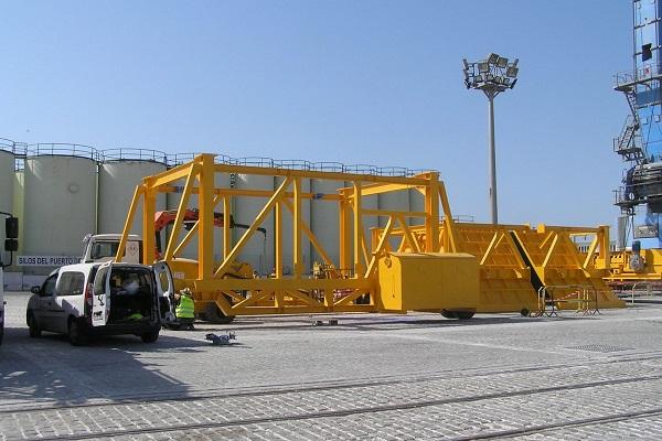 Puerto de Gran Canaria recibirá nueva tolva fabricada por CHIA