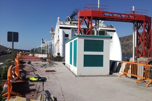 Puerto de La Gomera instalará punto de suministro de electricidad para buques