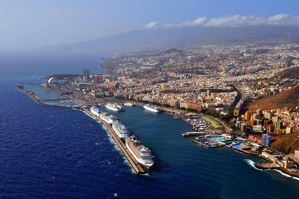 Puerto de Santa Cruz aumenta un 5% movimiento de mercancías hasta julio