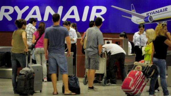 Ryanair maletas