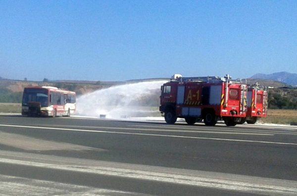 Scania contra incendios