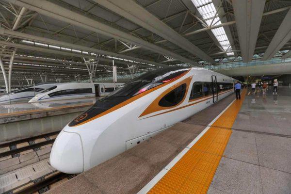 trenes bala chinos