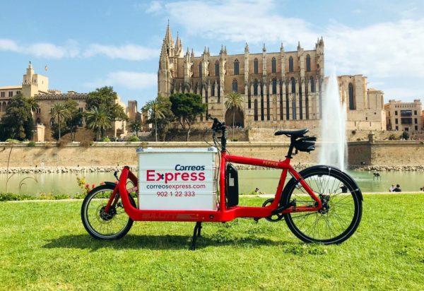 Bicicleta Correos Express