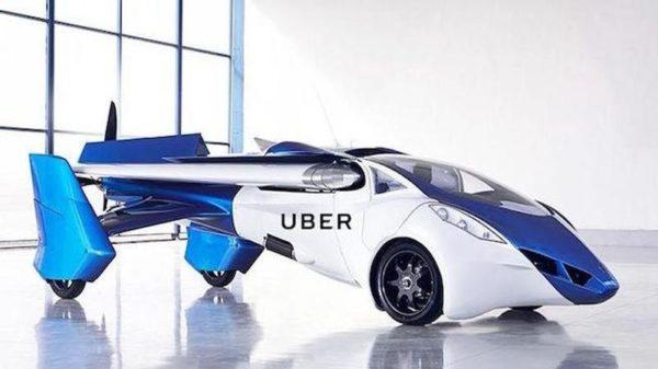 Coches voladores de Uber