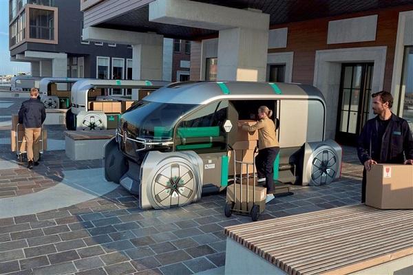 DPDgroup y Renault crean nuevo repartidor de paquetes autónomo