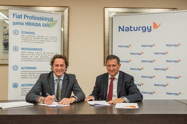 Naturgy y Fiat se unen para impulsar la movilidad sostenible