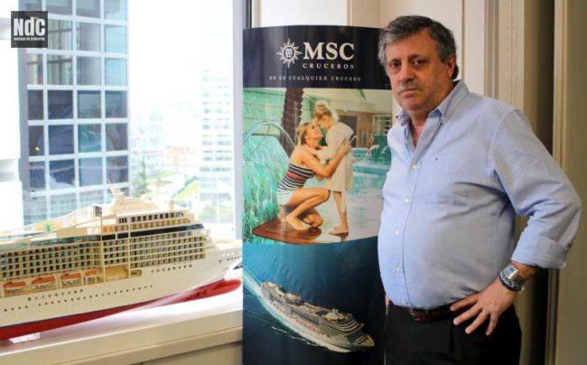 Pablo-Laudonia. MSC Argentina Cruceros