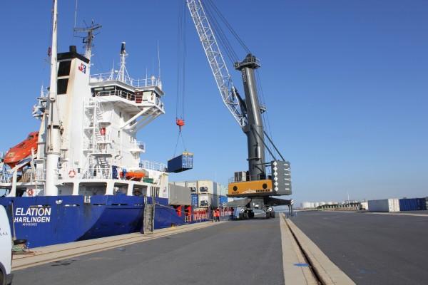 Puerto de Huelva recibe 40 propuestas para nueva explanada de tráfico ro-ro