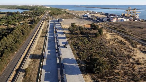 Puerto de Huelva ultima preparativos para II Jornadas de la Plataforma Intermodal